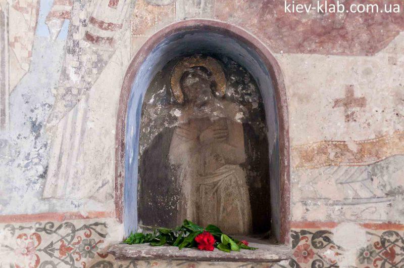 Лик Петра Могилы церковь Спаса на Берестове