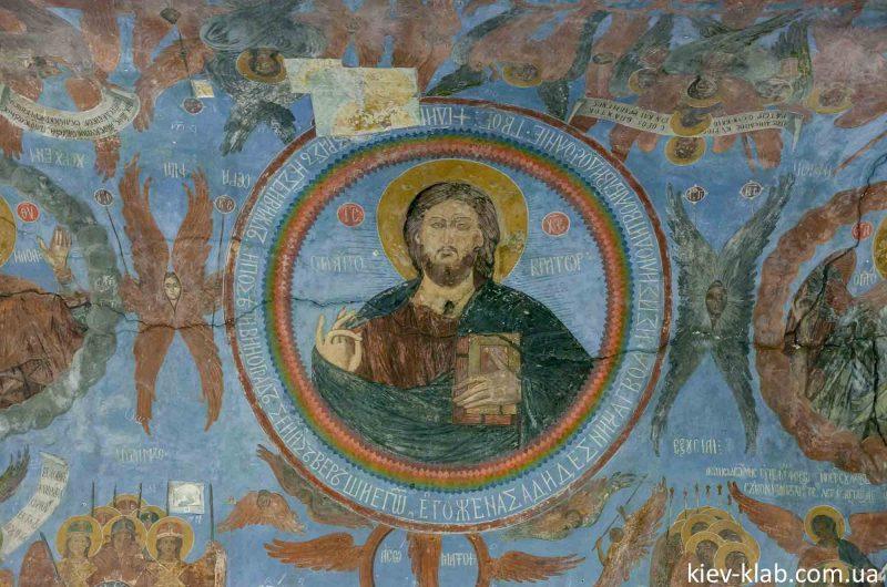 Образ бога на своде