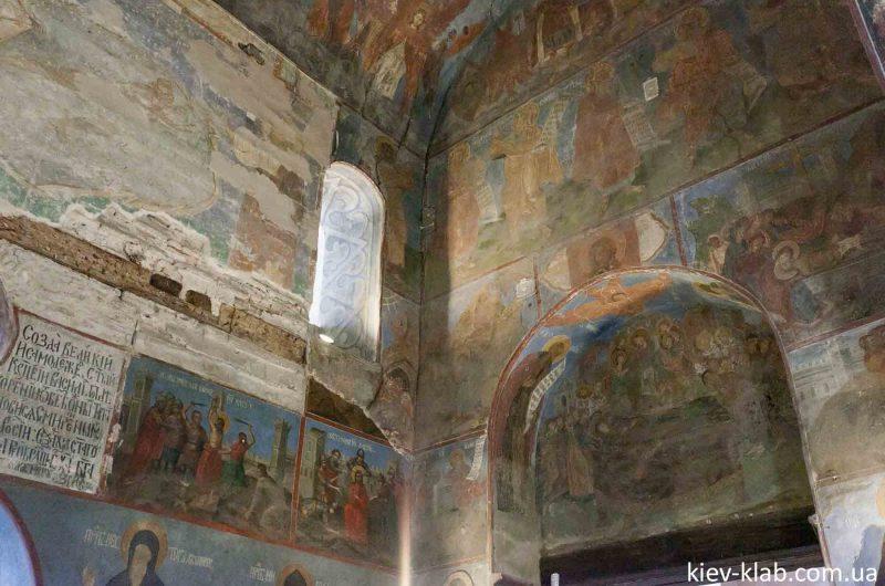 Святые на фресках 12 столетия