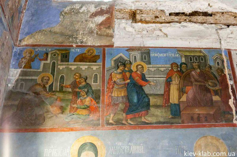 Сцены из библии храм Спаса на Берестове