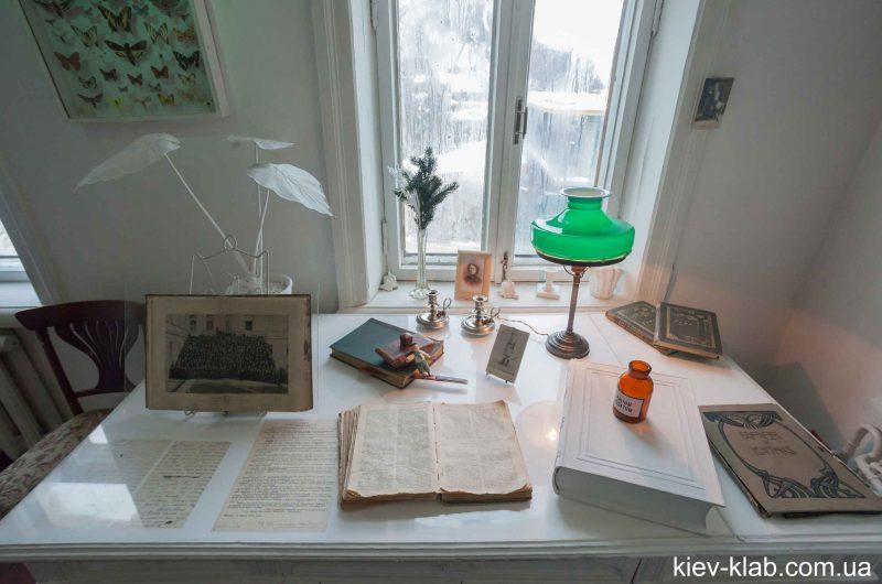Рабочий стол в доме Булгакова