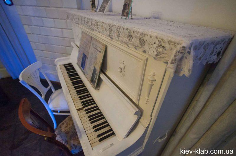 Пианино в доме Булгакова