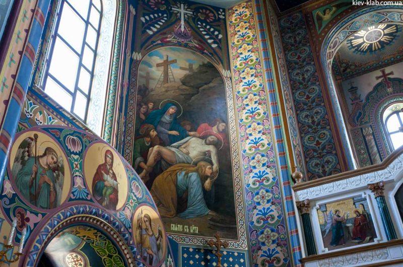 Сцены из Библии в храм в Ските Киево-Печерской Лавры