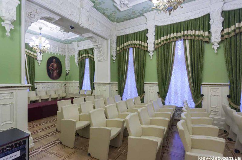 Зелёный кабинет дома с Химерама
