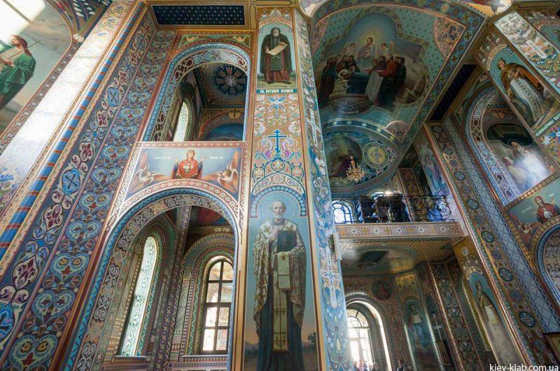 Фрески в храм в Ските Киево-Печерской Лавры