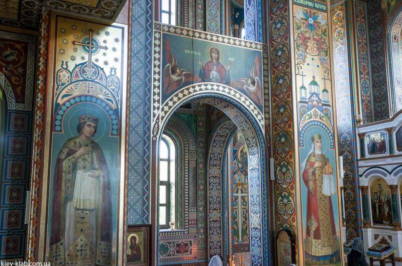 Сятые в храме в Ските Киево-Печерской Лавры
