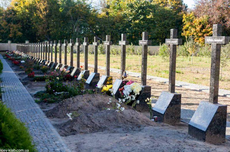 Захоронения в Ските Киево-Печерской Лавры