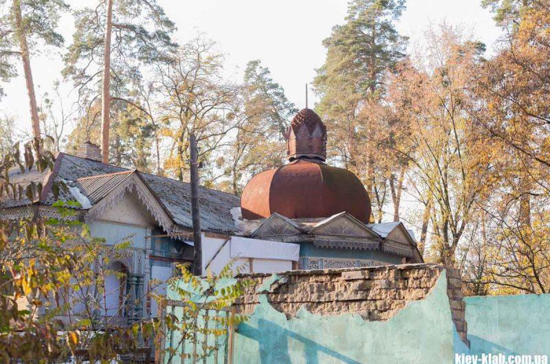 Купол на даче в Пуще-Водице