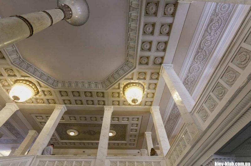 Потолок в Верховной Раде