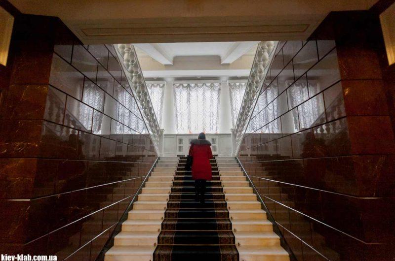 лестница в администрации