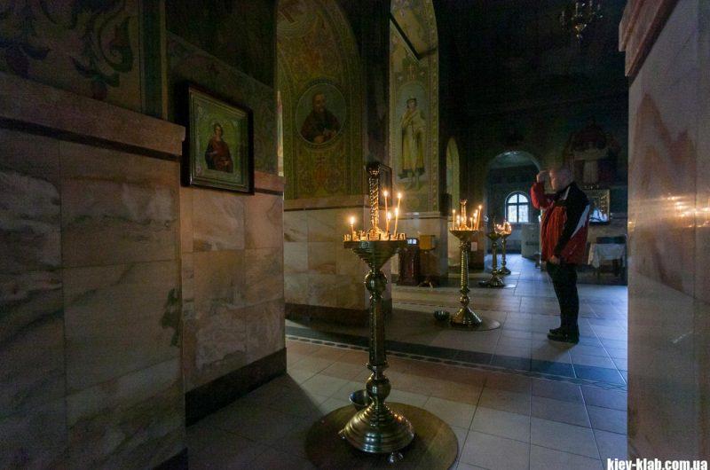Место для свечек