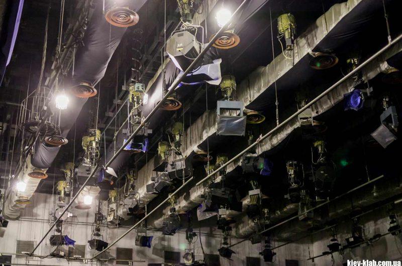 Осветители киевский телецентр