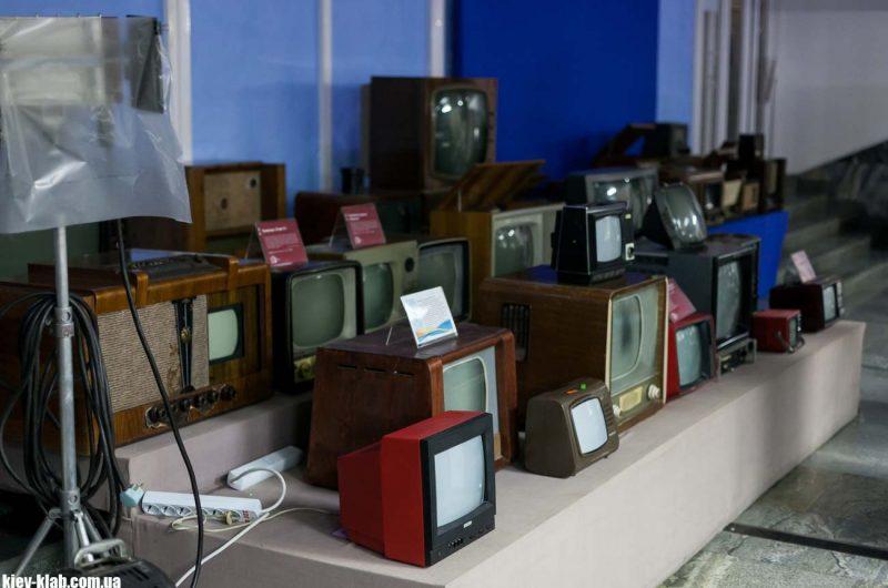 Киевский телецентр старые телевизоры