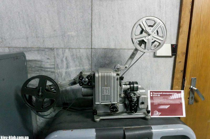 Старая камера в киевском телецентре