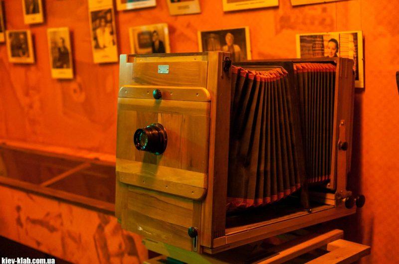 Старая фотокамера в киевский телецентр