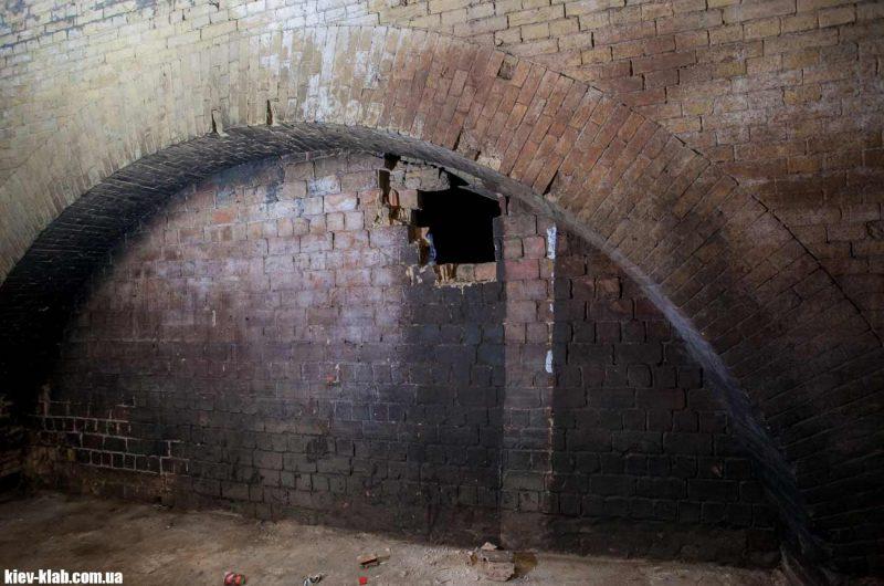 Замурованная комната в тюрьме НКВД