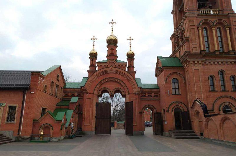 Ворота Голосеевский монастырь