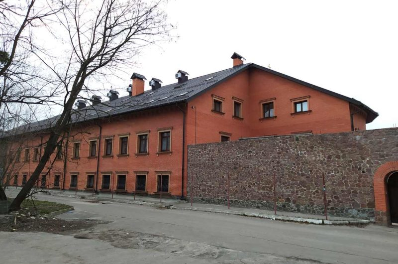 Голосеевский лес возле монастыря