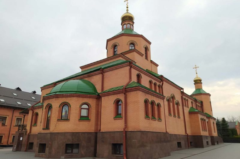 Храм Голосеевский монастырь