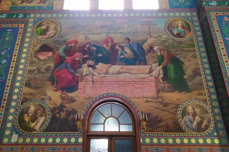 Свято-Пантелеймоновский монастырь сцена из Библии