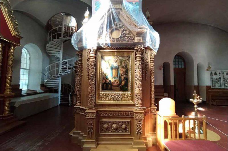Свято-Пантелеймоновский монастырь столб
