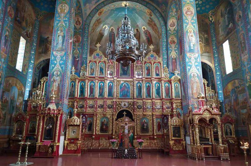 Свято-Пантелеймоновский монастырь иконостас