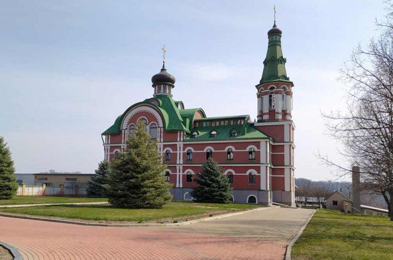 Свято-Пантелеймоновский монастырь внешний вид