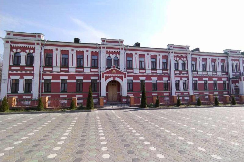 Свято-Пантелеймоновский монастырь учебный корпус