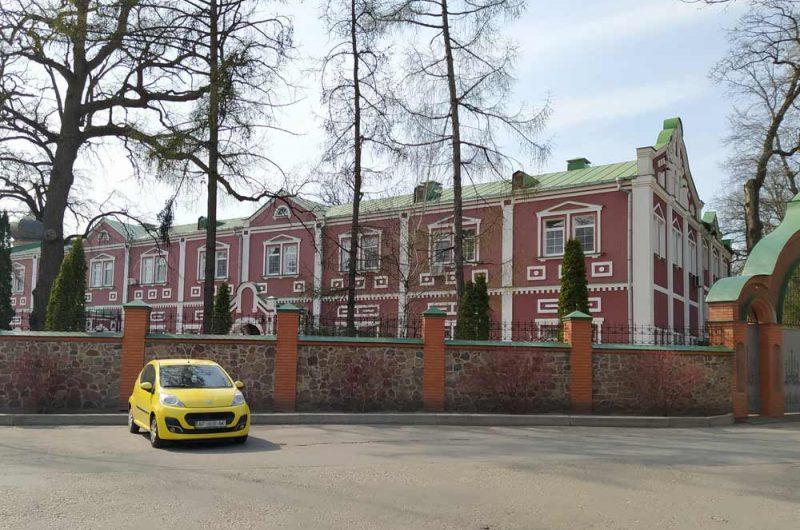 Свято-Пантелеймоновский монастырь корпуса