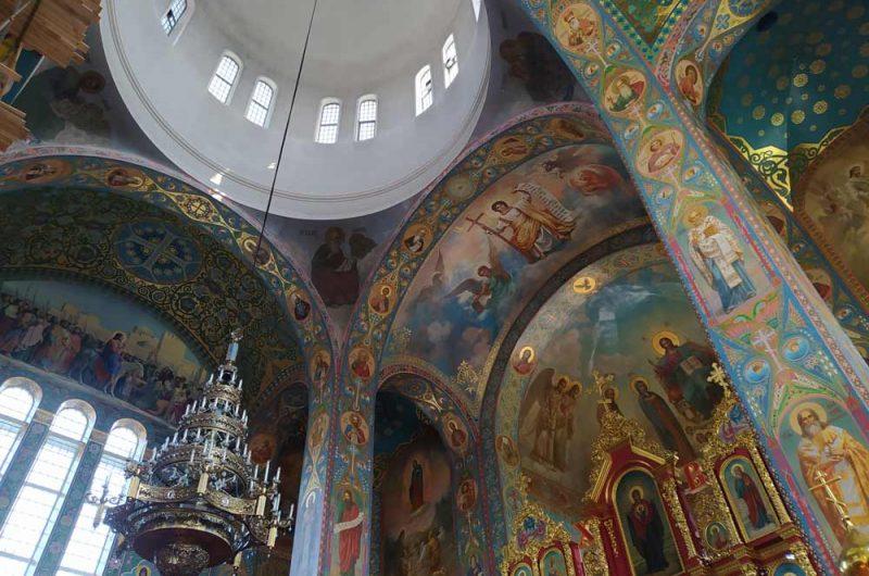 Свято-Пантелеймоновский монастырь роспись