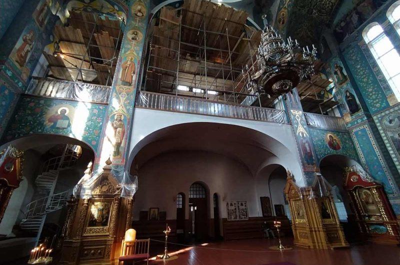 Свято-Пантелеймоновский монастырь восстановление
