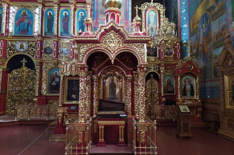 Свято-Пантелеймоновский монастырь рака