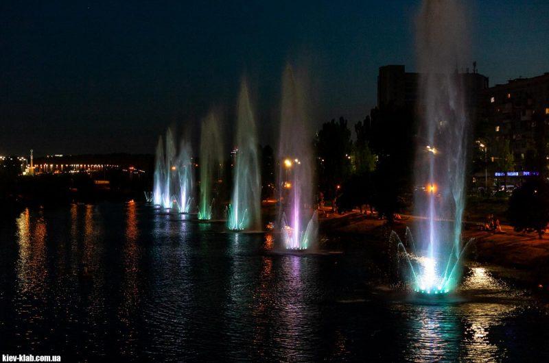 Русановские фонтаны 2020