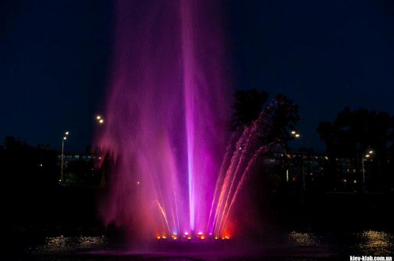 Красивый фонтан Киев