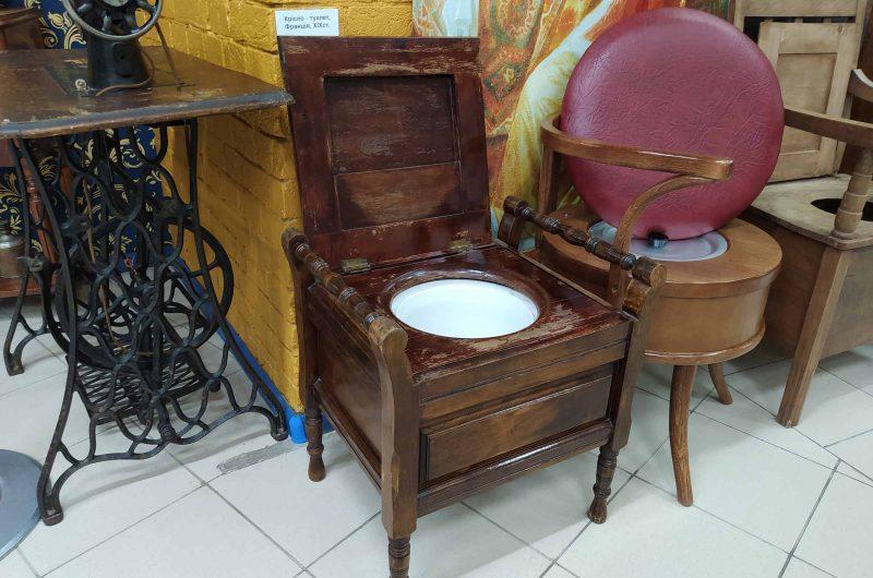 Туалет для богатых музей туалета