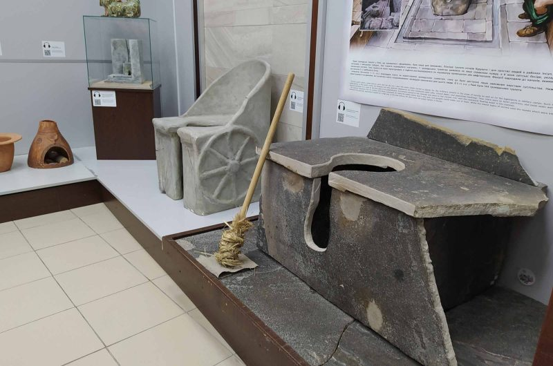 Античный туалет музей