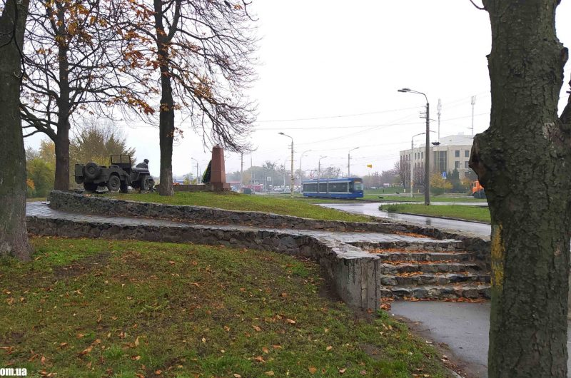 Братская могила на Борщаговке