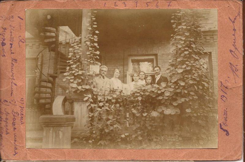 Дом Нечуя-Левицкого Бехтеревский переулок