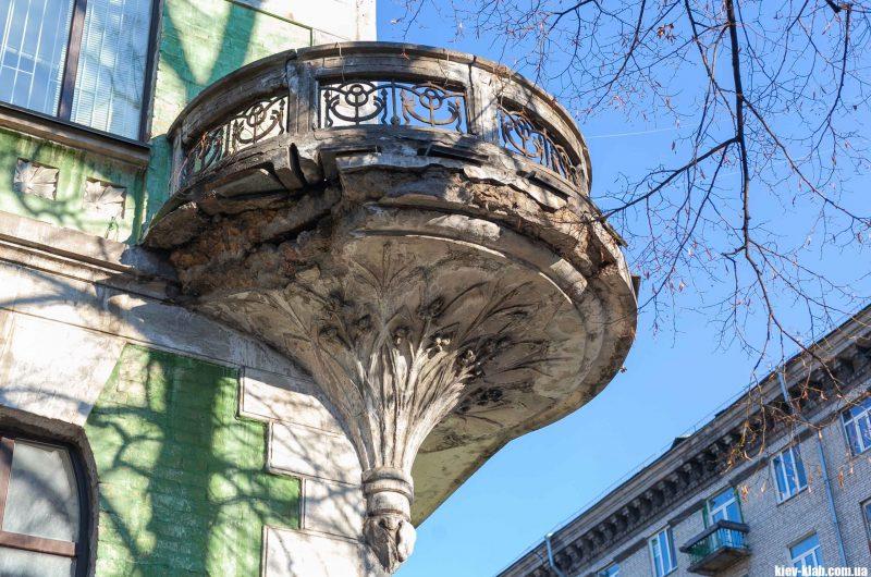 Киев дом с ирисами
