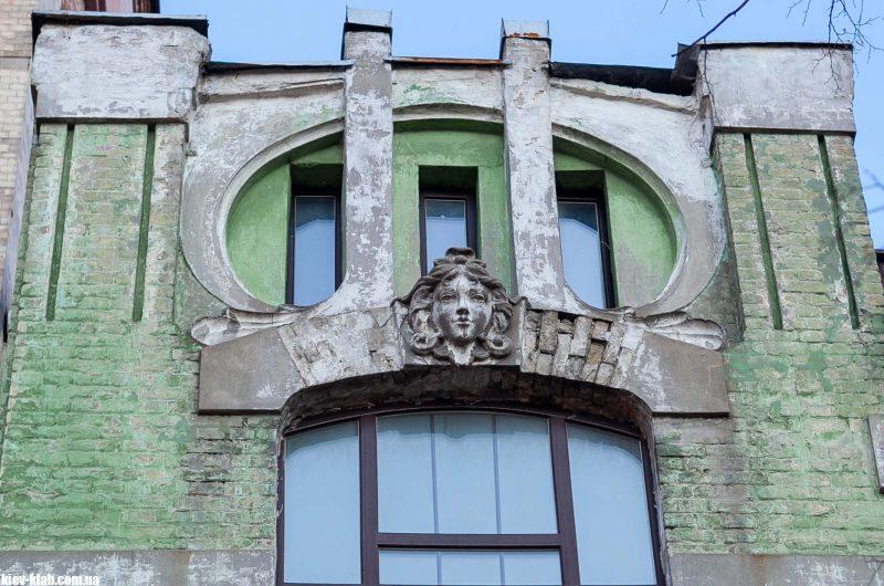 Маскарон Киев дом