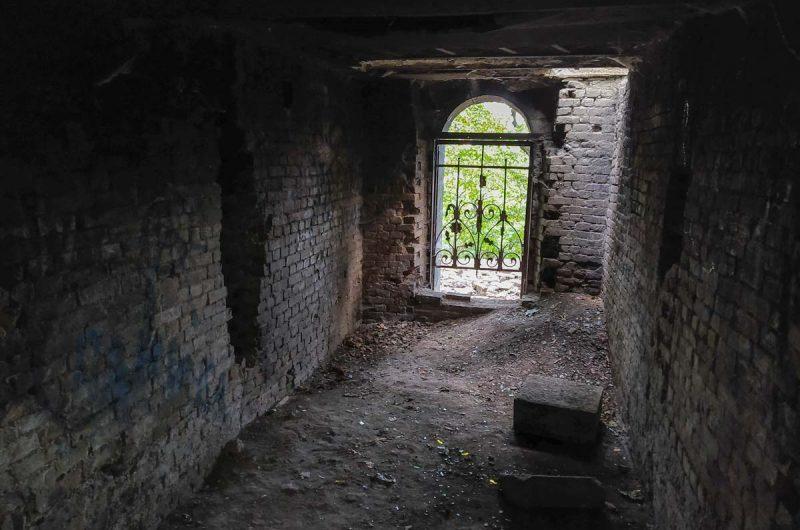 Усыпальница на замковой горе