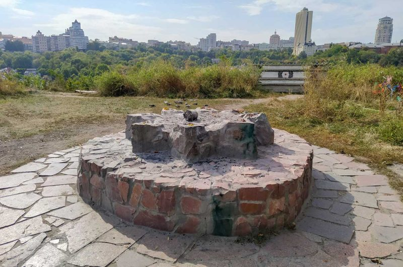 Капище на замковой горе