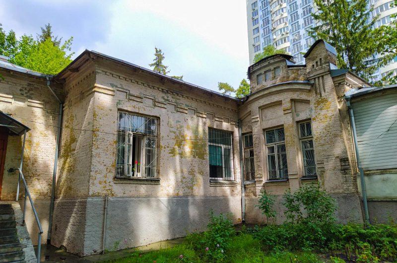 Дореволюционные дома в Киеве