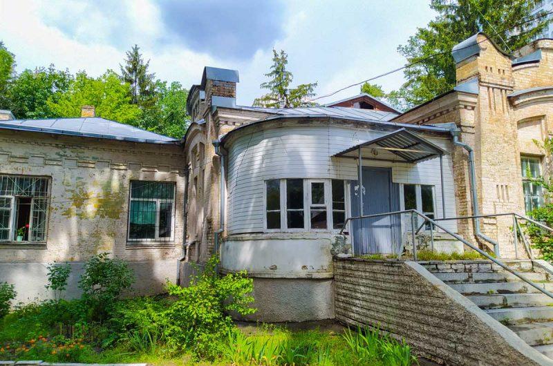 Старые дома на Святошино