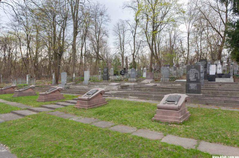 Карта куренёского кладбища