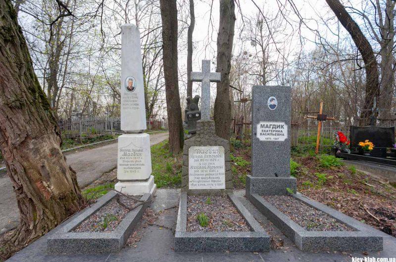 Кладбище в Подольском районе
