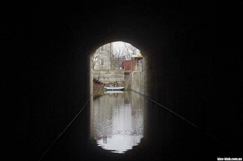 Затопленный обьект Киев