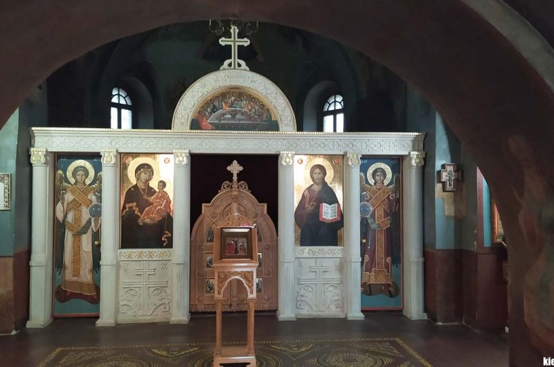 Погребения Выдубицкий монастырь