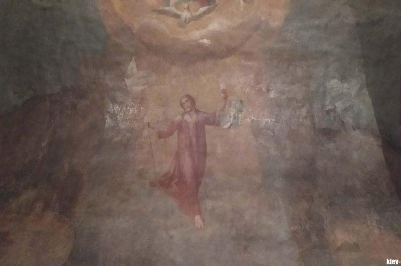 Граффити Выдубицкого монтастыря