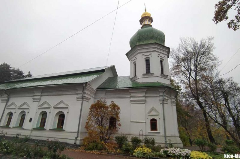Трапезная Выдубицкого монастыря